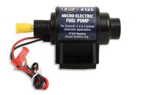 Mr. Gasket Micro Electric Fuel Pump - 4-7 PSI - 35 GPH - Gas 12S