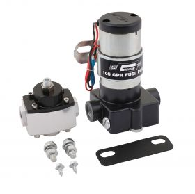 Mr. Gasket Electric Fuel Pump with Regulator - 105 GPH 105P