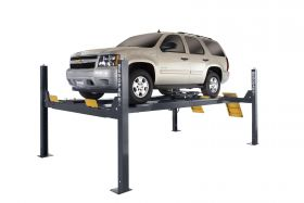 BendPak HDS-14LSXE - Four-Post Alignment Lift - Limo Extended Length - w/ Turn Plates & Slip Plates - 14000 lb. Capacity 5175172