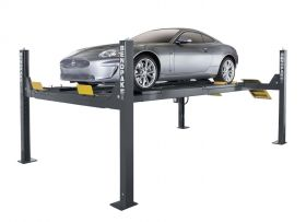BendPak HDS-14LSX - Four-Post Alignment Lift - Extended Length - w/ Turn Plates & Slip Plates - 14000 lb. Capacity 5175171