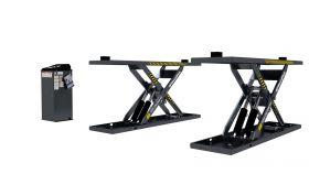BendPak MDS-6LPF - Mid-Rise Scissor - Open Center - Flush Mount - 6000 lb. Capacity 5175227