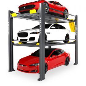 BendPak HD-973P-G - Tri-Level Parking Lift - Special Order - Galvanized - 9000 lb. & 7000 lb. Capacity 5175266