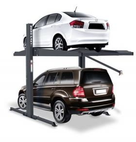 BendPak PL-7000DLX - Two Post Parking Lift - Special Order - Galvanized - 7000 lb. Capacity 5175289