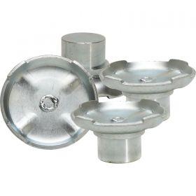 BendPak 2-Post Pad - Steel - 60mm Pin - Drop-In - Set of 4 5215763