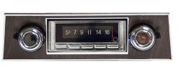 67-68 Chevy Camaro Custom Autosound USA-740 Radio - Black CAMCAE740