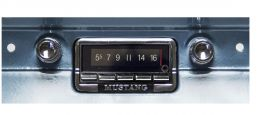 64-66 Ford Mustang Custom Autosound USA-740 Radio CAMMSUSA740