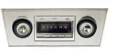 66-67 Chevy II Nova Custom Autosound USA-740 Radio CAMNOV67740