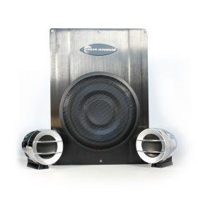 Custom Autosound 2.1 Amplified Speaker System SYSTEM1