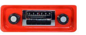 67-72 Chevy/GMC Truck Custom Autosound Slidebar Radio CAMCHTKLSBR