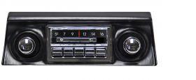 68-76 Chevy Corvette Custom Autosound Slidebar Radio CAMCVMVSBR