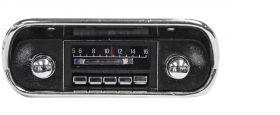 67-73 Ford Mustang Custom Autosound Slidebar Radio CAMLMSBR