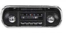 custom autosound 67-73 ford mustang radio
