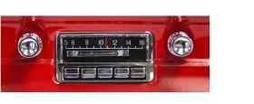 custom autosound 64-66 mustang radio