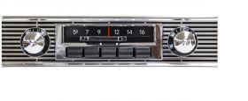 55-56 Chevy Custom Autosound Slidebar Radio CAMVECH56SBR
