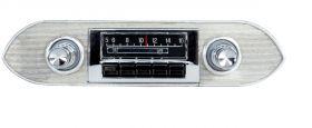 custom autosound 62-65 chevy ii nova radio