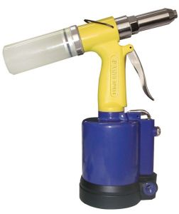 Astro Pneumatic Air Riveter - 3/32 Inch - 1/8 Inch - 5/32 Inch - 3/16 Inch and 1/4 Inch Capacity PR14