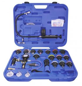 Astro Pneumatic Universal Radiator Pressure Tester & Vacuum Type Cooling System Kit 78585