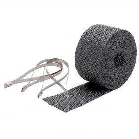 DEI Exhaust Wrap Kit - Pipe Wrap & Locking Tie - Black - 10119