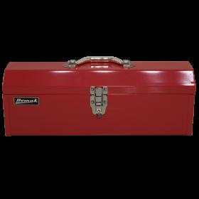 Homak 19 Inch Red Metal Toolbox w/ Black Metal Tray  RD00119200