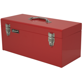 Homak 20 Inch Red High Tool Box w/ Black Metal Tray  RD00120920