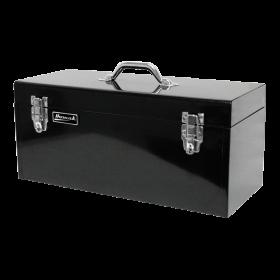 Homak 20 Inch Black High Tool Box w/ Black Metal Tray  BK00120920