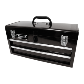 Homak 20 Inch Black 2 Drawer Toolbox BK01022001