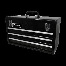Homak 20 Inch Black 3 Drawer Toolbox BK01032101
