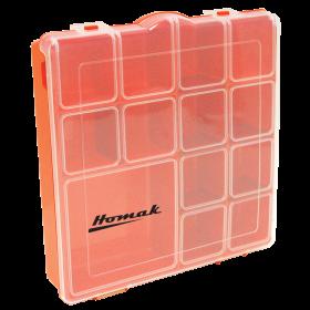 Homak Tall Plastic Storage Box  HA01088175