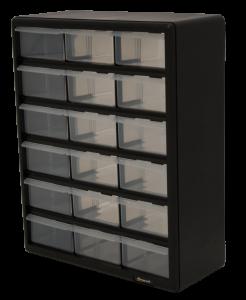 Homak 18 Drawer Parts Organizer HA01018001