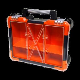 Homak 6 Bin Portable Plastic Organizer HA01106015