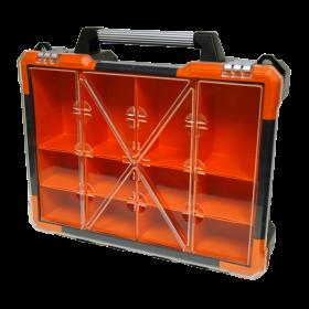 Homak 12 Bin Portable Plastic Organizer HA01112019