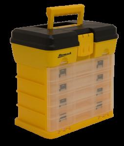 Homak Large Portable Plastic Parts Organizer HA01040121