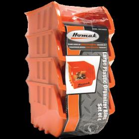 Homak Large Plastic Bins Set of 4 HA01040954