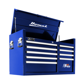 Homak 41 Inch H2Pro Series 9 Drawer Top Chest - Blue  BL02041091