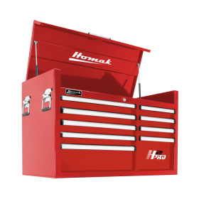 Homak 41 Inch H2Pro Series 9 Drawer Top Chest - Red RD02041091