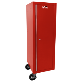 Homak 19 Inch H2Pro Series Full-Height Side Locker - Red RD08019602