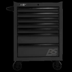 Homak 27 Inch RS PRO 7 DWR ROLLER CABINET-BLACK BK04027770