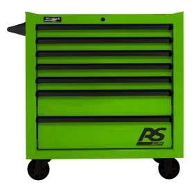 Homak 36 Inch RS PRO 7 DWR ROLLING CABINET-LG LG04036070