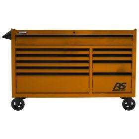 Homak 54 Inch RS PRO 10 DWR ROLLING CABINET-OG OG04054010