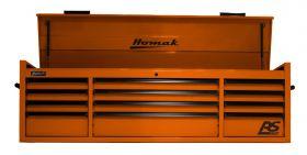 Homak 72 Inch RS PRO 12 DR TOP CHEST W/OUTL-OG OG02072120