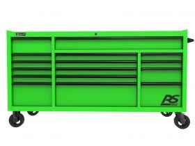 Homak 72 Inch RS PRO 16 DWR ROLLER CABINET-LG LG04072160