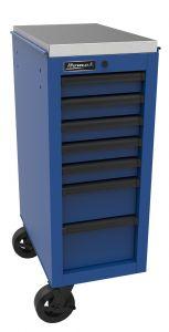 Homak 14 1/2 Inch RS Pro 7-Drawer Side Cabinet - Blue BL08014070