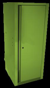 Homak 22 Inch RS Pro Full Height Side Locker - Lime Green LG08021050