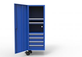 Homak HXL Side Locker - Blue HX08024002