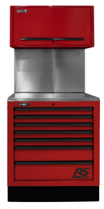 Homak 36 InchCTS Set with Solid Back Splash - Red RDCTS36001