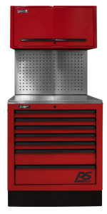 Homak 36 InchCTS Set with Toolboard Back Splash - Red RDCTS36002