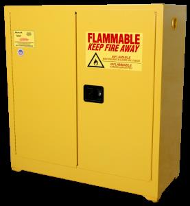 Homak 30 Gallon Safety Cabinet YW00750300