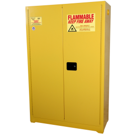 Homak 45 Gallon Safety Cabinet with Self Closing Hinges YW00750451