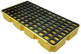 Homak 2 Drum Modular Spill Containment Platform YW00302302