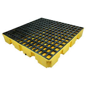 Homak 4 DrumSpill Containment Pallet YW00304660